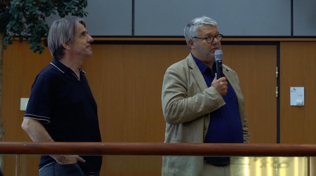 In foto Bruno Rousset ed Emmanuel Morandini